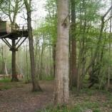 Weel-end cabane Laizon dans les arbres