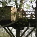 Weel-end cabane Laizon dans les arbres en famille