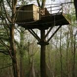 Weel-end insolite cabane Laizon dans les arbres