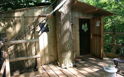 Cabane dans les arbres Laizon