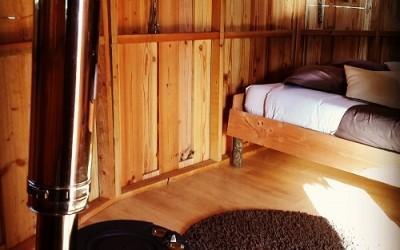 Le principe de nos chambres d'hôte perchées